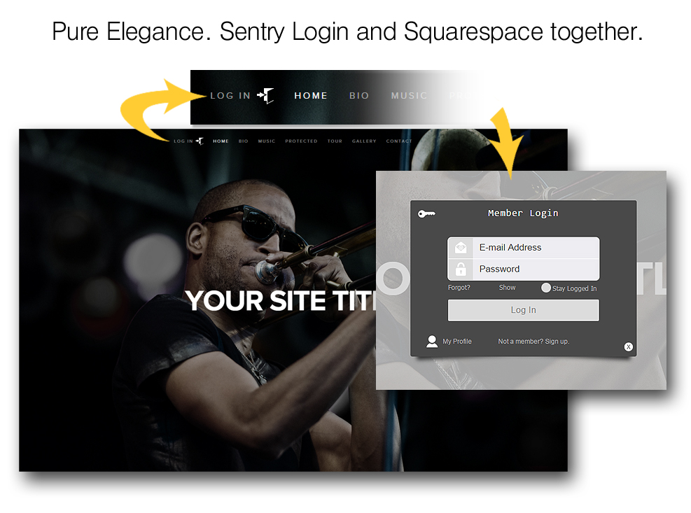 Easily add a member paywall for Weebly, Squarespace, Yola, WordPress
